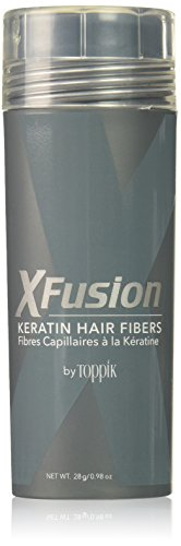 XFusion Dark Brown Keratin Hair Fibres 28 Gram