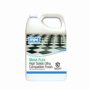 MPC Mega Flex High Gloss Floor Finish 4-1 Gallon Containers//Case 2 Cases