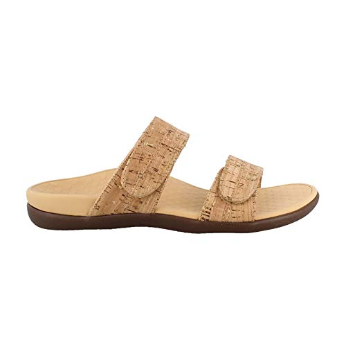 Vionic Women's by Orthaheel, Shore Slide Sandal Cork 7 M
