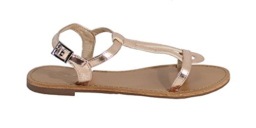 By Shoes - Sandalias para Mujer Rose Gold