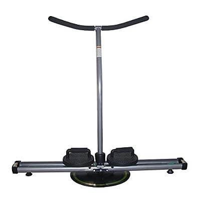 NBpower Leg Magic Exercise Machine Thigh Glider Machine Handle Bar Leg Master Gym Home Can Do Push Up Reverse Lunge Exerciser 360 Circle Glide