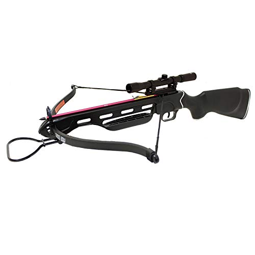 Manticore    SAS 150lbs Crossbow with Scope, Extra Arrows and Rope Cocking Device