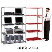 UPC 022769902951, Nexel 4 Shelf Add On Unit 72inW/24inD/63inH