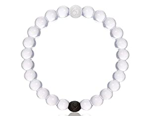 Clear Lokai Bracelet Mud From the Dead Sea Water From Mt. Everest All Sizes & Color with Lokai Tag