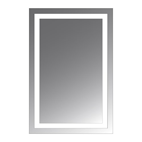 Civis USA LED Lighted Mirror, 24 by 36-Inch, Malisa by Civis USA