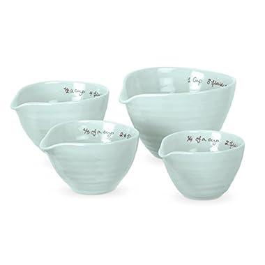 Portmeirion Sophie Conran Celadon Measuring Cups, Set of 4