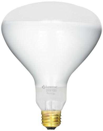 Halco R40FL500/HG Medium Base R40 Bulb, 500-watt, 120-volt