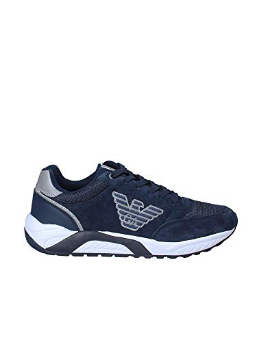 Blu Ea7 40 Sneakers Armani Emporio XK029 Uomo X8X022 fYzwqxR