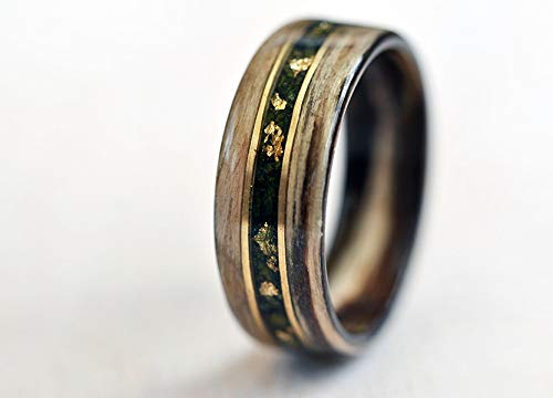 Wood Wedding Rings.Amazon Com Wood Ring For Women Woman Wood Wedding Ring With
