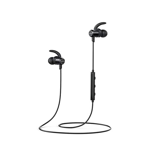 Bluetooth Headphones, Anker SoundBuds Slim,10H Playtime, Bluetooth 5.0, IPX7 Waterproof Magnetic for Sports, Exercise, Running, Gym 1