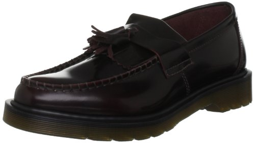 Dr. Martens Adrian Slip-On Loafer, Cherry Red, 11 UK/12 M US Men ()