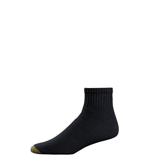 Gold Toe Men's Cotton Quarter Athletic Sock Six-Pack