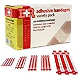 Product review for Ever Ready First Aid Quality Adhesive Bandage Variety Pack, 280 Count