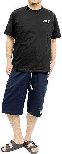 ショートパンツ メンズ 大きいサイズ スウェット ロゴ プリント イージーパンツ ハーフパンツ