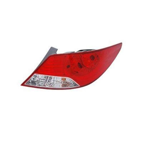 (Go-Parts OE Replacement for 2012-2014 Hyundai Accent Rear Tail Light Lamp Assembly/Lens / Cover - Right (Passenger) 92402-1R010 HY2801144 for Hyundai Accent )
