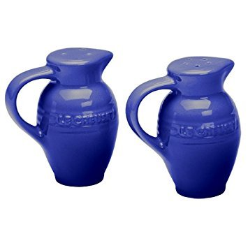 Le Creuset Stoneware 3-Ounce Salt and Pepper Shaker Set, Cobalt