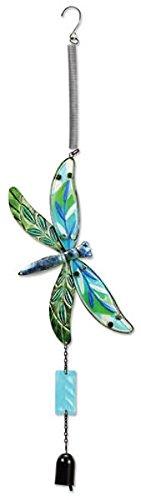 (Sunset Vista Designs Jumbo Fusion Glass Dragonfly Bouncy Hanging)
