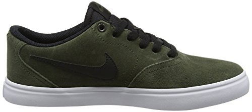 Nike SB Check Solar, Scarpe da Skateboard Uomo Beige (Cargo Khaki/Black)