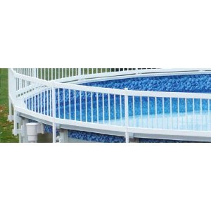 Swimming Pool Fence Kit (Premium Guard Above Ground Swimming Pool Safety Fence KIT B- 3 Spans (Agpf-kit B))