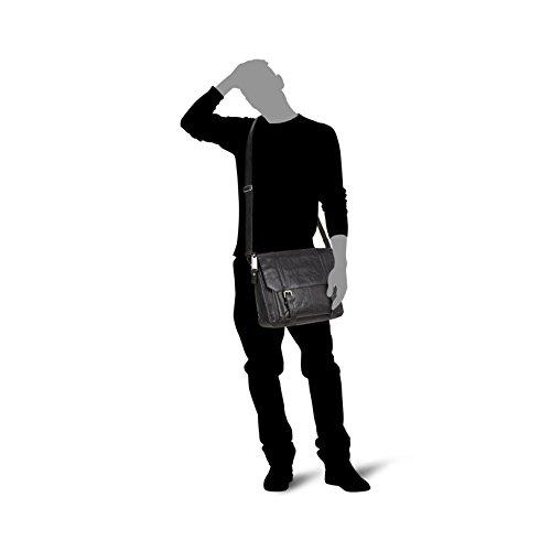 Realmente Toma Picard Tough borsa a tracolla pelle 38 cm Nero Precio Barato Para Pre Venta Barata 100% Auténtico Precios De Venta 2018 Venta En Línea Más Reciente ovYzusRNfj