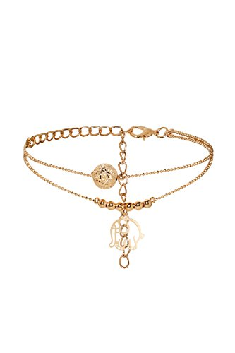 Anklet Feet Ball Chain Charm Bracelet String Bangle Fashion Golden Women Jewelry (Golden, Elephant)