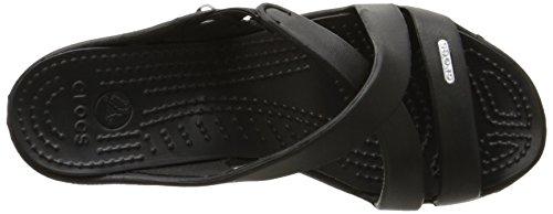 94571670f9 crocs Women's Cyprus IV Heel,Black/Black,8 M US - Import It All
