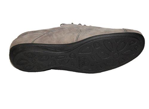 Solidus - Zapatos de cordones para mujer gris
