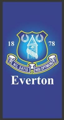 Everton FC Football Crest Rug