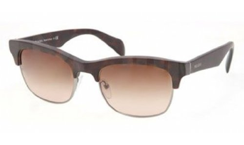 Prada PR11PS Sunglasses-HAQ/6S1 Matte Havana (Brown Gradient ()