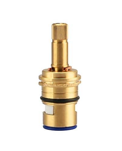 Replacement Brass Ceramic Disc Cartridge For Danze Two Handle Faucet Valve, K507072W Colde Side ()