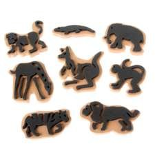 Jumbo Ink Wild Animal Stampers