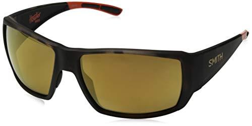 (Smith Guides Choice ChromaPop+ Polarized Sunglasses, Howler Matte Tortoise)