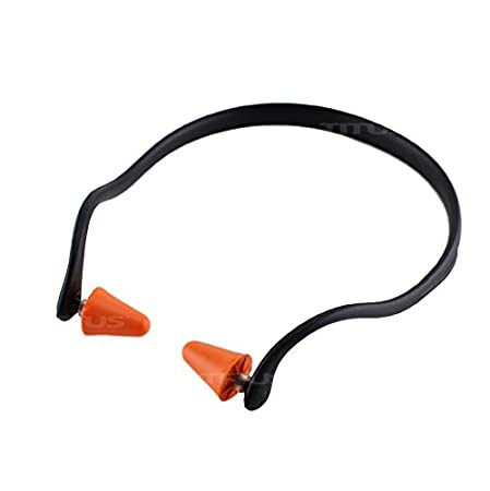 Over Ear Reuseable Banded Ear Plugs Titus U-Band 22 Decibel, 100 Replacement Plugs