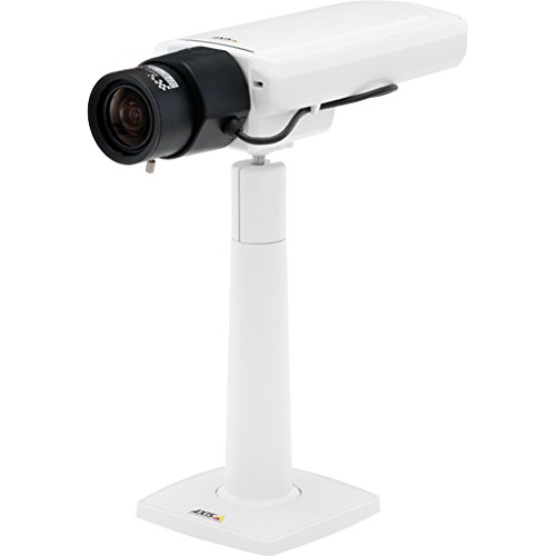 Video Axis Surveillance (Axis Communications 0689-001 P1364 Network Surveillance Camera - Color (Day & Night) - 2.8-8.5Mm Lens - 1280 X 960, White)