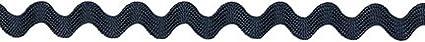 Decorative Trimmings 00625-C-006F-081 Rick Rack, 5/16 x 6', Navy 5/16 x 6'
