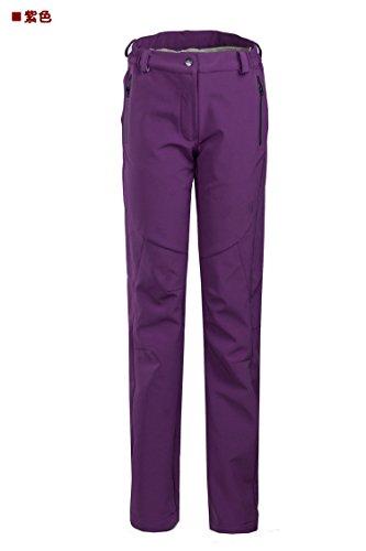 Dei Viola Fym Salire Calda Cintura Pantaloni Dyf Permeabilità Giacche w Pantaloni Sci Donne Uomini Antivento BIAWpq