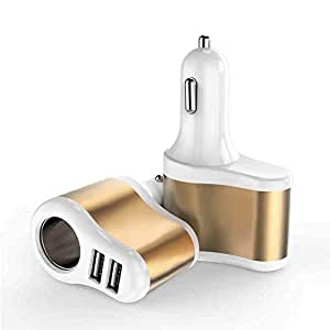 GerTong Cargador de Coche con Puerto USB Dual, Adaptador de ...