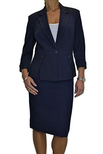 Womens Designer Jacket Skirt Business product image