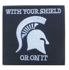 Amazon com: Spartan with Your Shield OR ON IT 3D Tactical