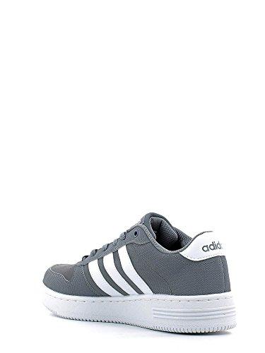 Adidas team court, Baskets mode pour homme, gris (Gris/Ftwbla/Ftwbla) 40