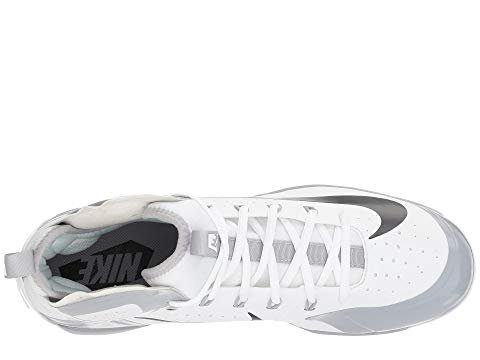 Image of Nike Alpha Huarache Elite (10, White/Black/Wolf Grey)