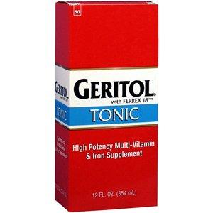 Geritol Liquid Energy Support B-Vitamins 12 oz ()