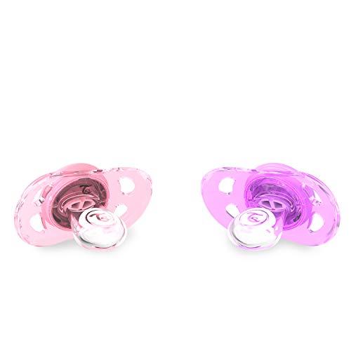 Twistshake 78286 - Chupete, color pastel rosa morado: Amazon.es: Bebé