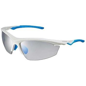 Shimano EQX2PH Sonnenbrille zum Radfahren, Schwarz, Einheitsgröße