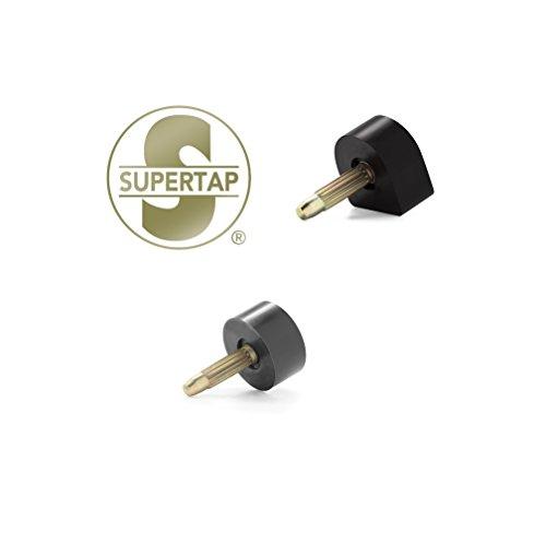 Supertap OAK High Heel Tips Quality Pins/Top-lifts Taps Pump Dowels Repair Lot, 3 Pair. Size 17 ()