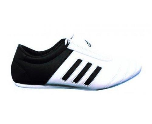adidas-KICK-Shoes-Martial-Arts-Sneaker-White-with-Black-Stripes-4