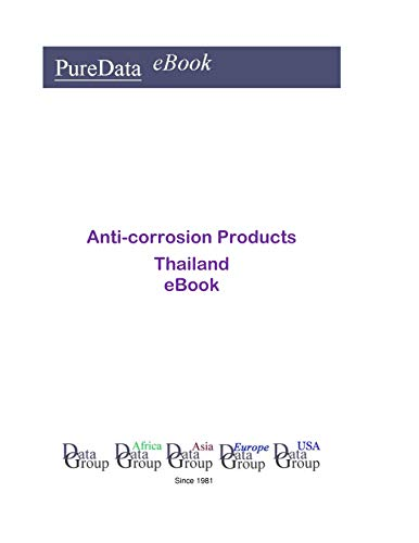Anti-corrosion Products in Thailand: Market Sales (English Edition)