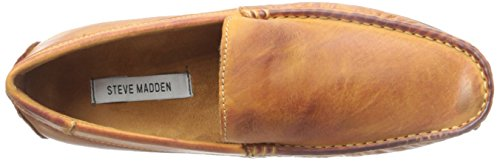 Steve Madden Mens Emir Una Mocassino Slip-on Tan
