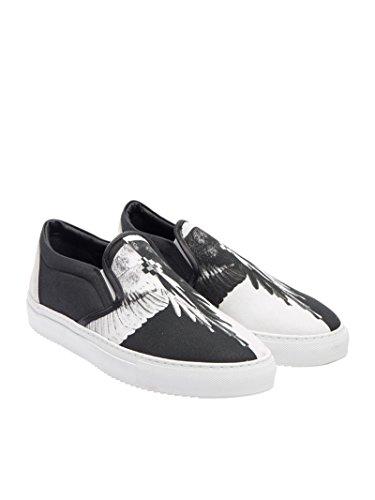 MARCELO Sneakers On BURLON Slip CMIA015F175320821001 Stoff Herren Weiss Schwarz rr8Bq