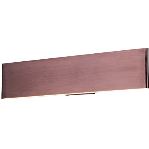 Et2 Lighting Blade - ET2 Lighting E22901-BRZ Blade Bath Vanity-PCB LED, Anodized Bronze